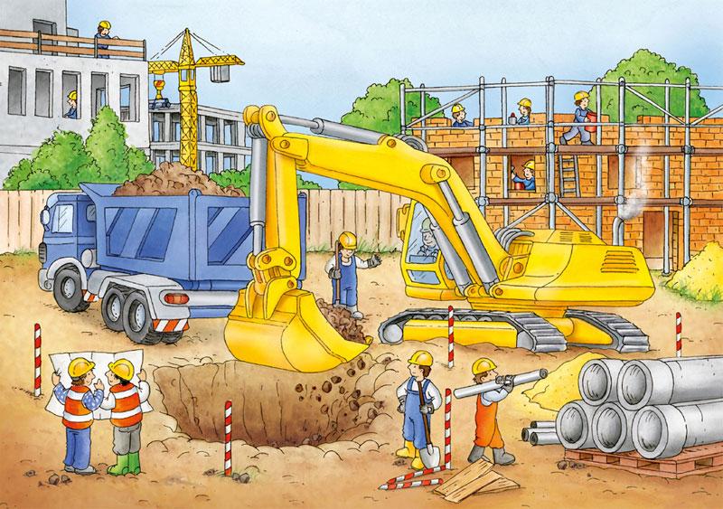 narzędzia i maszyny na budowie
